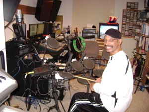 Herman Jones My Funk Brother in the studio